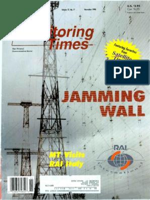 Monitoring Times 1998 11 Amateur Radio Radio