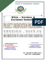 Project on Orientation Programme