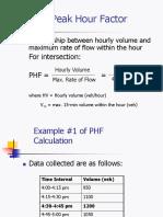 Peak Hour Factor (TRAFFIC ENGINEERING BFC 32302)