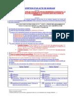 Demande de Transcription Mariage 08-04-2014