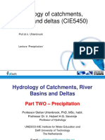 CIE5450 Hydrology Precipitation