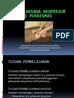 Modul 2 Tata Laksanan Pelayanan Akupresur Di Puskesmas 060614