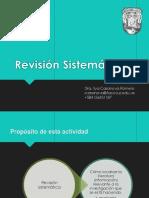 Revision Sistemática