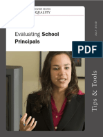 Evaluating School Principals
