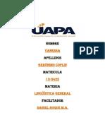 Unidad 2 Linguistica General