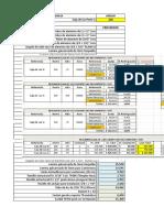 Analisis Porcentual Cajas de Luz 2018