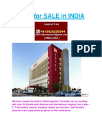HOTEL list for SALE in INDIA +918826258544.docx