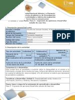Guía-Paso 3-Expresión de OpinionesDesarrollar Estudio de Caso Tres