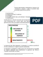 Gerarchia Dei Rifiuti - RisorsaRifiuti.it
