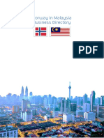 Norway Malaysia Business Directory PDF