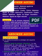 ABDÓMEN AGUDO 1