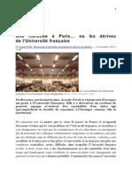 Josette Féral_Une Huronne à l'Université Française