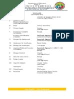 Programme (Graduation Rites)(2)