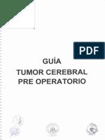 Tumor Cerebral Pre Operatorio