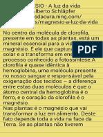 - Magnesio,Luz Da Vida
