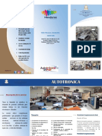Brochure Autotronica