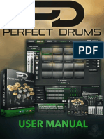 Perfect Drums User Manual