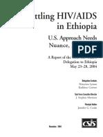 Battling Hiv-Aids Ethiopia
