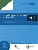 Metodologia de La Investigacion en Geografia