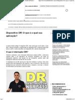 Dipositivo DR - Mundo Da Elétrica