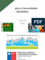 1. Municipios y Comunidades Saludables