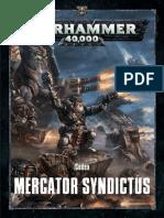 Warhammer 40k Codex Mercator Syndictus ( AKA Codex Squats ) 8th
