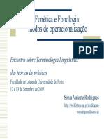 Terminologia Apresentação Pdfs