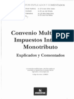 Convenio Multilateral 2016