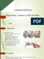 Materiais Elétricos - disjuntor