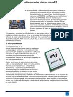 Polo-Resumen Componentes Internos de Una PC
