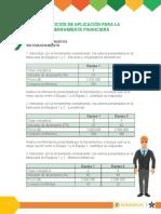 4 EJERCICIOS de APLICACIÓN Herramienta Financiera