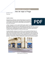 Cambio de Moneda en Praga