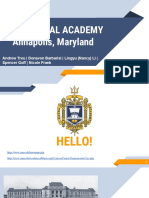united states naval academy governance