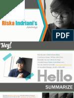Riska Indriani's Journey 2018