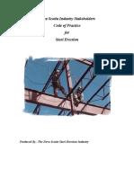 Steel Erection Code of Practice