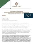 Papa Francesco Lettera Universita Cattolica Argentina