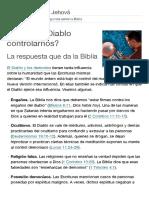 ¿Puede El Diablo Controlarnos_ _ Preguntas Sobre La Biblia