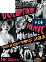 Voluptuous Panic - The Erotic World of Weimar Berlin (Expanded Edition)