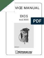 Service Ekos 9000