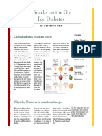 nutritious snacks for diabetic patients article