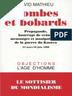 Mathieu, David - Bombes et Bobards