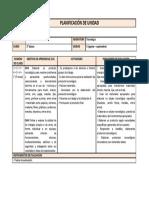 planificación unidad 3 tecnología 5° básico
