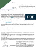 Operational Amplifier Basics - Op-Amp Tutorial