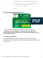 Basic PLC Ladder Programming Examples 10 _ ,