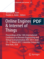 Online Engineering & Internet of Things