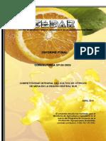 2010 Competitividad Integral Del Cultivo de Cítricos