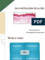 CLASE 1 Anatomía e Histología de La Piel
