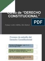 Proceso de Estudio Del Derecho Constitucional Dr. Luis Marill