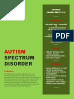 autism fact sheet -real deal