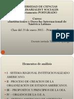 UCES - Instituciones y Derecho Int de América Latina